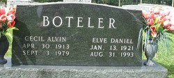 Elve Daniel Boteler