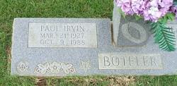 Paul Irvin Boteler