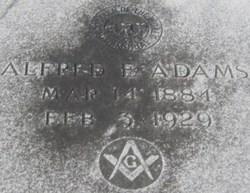 Alfred Enos Adams