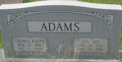 Isa Lee <i>Blackman</i> Adams
