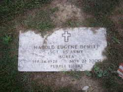 Harold Eugene Gene Dewitt