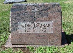 Anna Mary <i>Schrant</i> Haukap