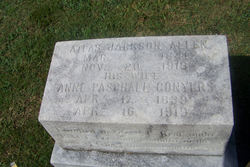 Annie Paschall <i>Conyers</i> Allen