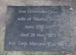 Jane <i>Linderman</i> Dove