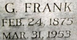 G Frank Harter