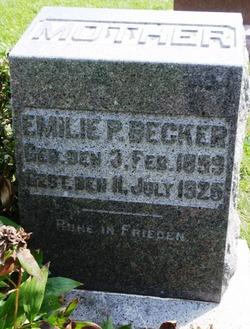 Amelia P Emilie <i>Klawitter</i> Becker