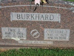 Christine S <i>Gramlich</i> Burkhard