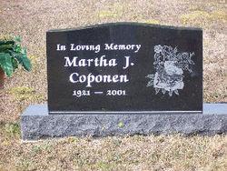 Martha J. <i>Keranen</i> Coponen