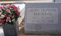 Laura <i>LeJeune</i> Bertrand