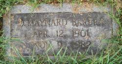 O. Maynard Barbra