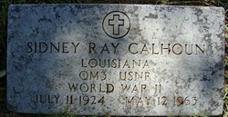 Sidney Ray Calhoun