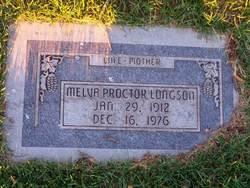 Melva <i>Proctor</i> Longson