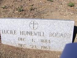Lucile <i>Hunewill</i> Bogard