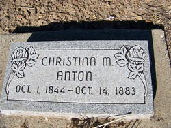 Christina M <i>McColley</i> Anton