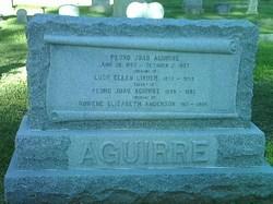 Rowene Elizabeth <i>Anderson</i> Aguirre