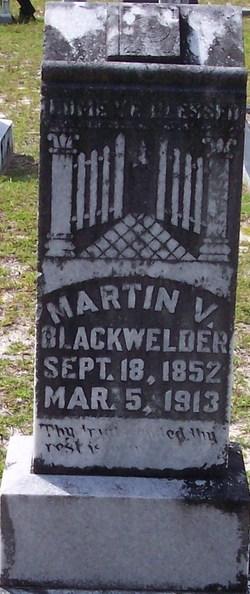 Martin Van Buren Blackwelder