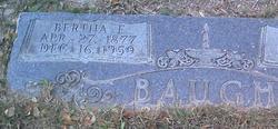 Bertha E. <i>Hemphill</i> Baugh