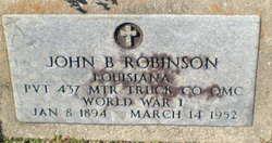 John Burgoyne Robinson