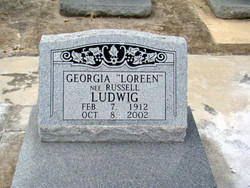 Georgia Loreen <i>Russell</i> Ludwig