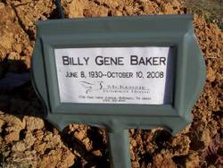 Billy Gene Baker
