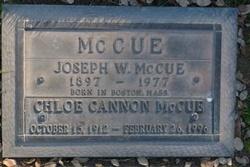 Chloe <i>Cannon</i> McCue
