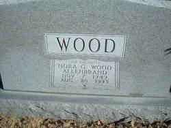 Nora G <i>Wood</i> Allenbrand