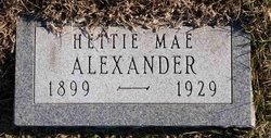 Hettie Mae Alexander