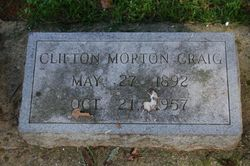 Clifton Morton Craig, Sr