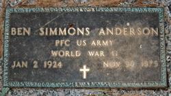 Ben Simmons Anderson