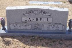 Ida Bell <i>O'Neal</i> Carrell