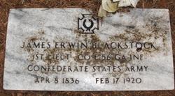 James Erwin Jim Blackstock