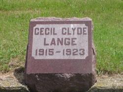 Cecil Clyde Lange