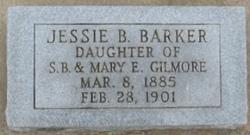Jessie B <i>Gilmore</i> Barker