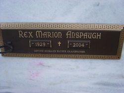 Rex Marion Anspaugh