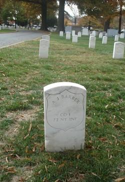 Pvt Abraham J. Barber