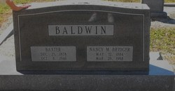 Nancy Missiouri <i>Bridger</i> Baldwin