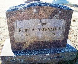 Ruby A. Abernathie
