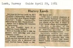 Harvey Lamb