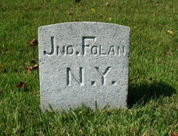 Pvt John Folan