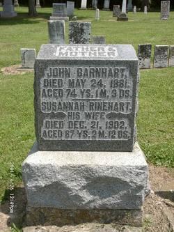 Susannah <i>Rinehart</i> Barnhart