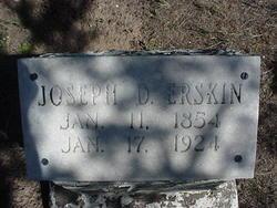Joseph D Erskine