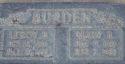 Leroy B Burden