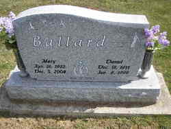 Mary Alice <i>Thatcher</i> Ballard