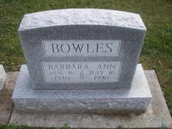 Barbara Ann <i>Berkshire</i> Bowles