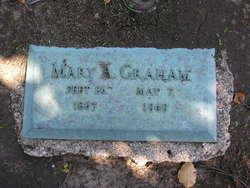 Mary <i>Templin</i> Graham