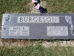 Annita Hazel <i>Christensen</i> Burgeson
