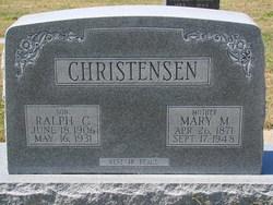 Mary M. <i>Linderman</i> Christensen