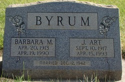 Barbara May <i>Hall</i> Byrum