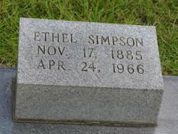 Ethel <i>Sheedy</i> Simpson