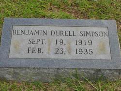 Benjamin Durell Simpson